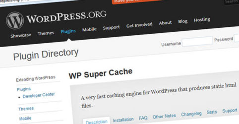 WP Super Cache Plugin