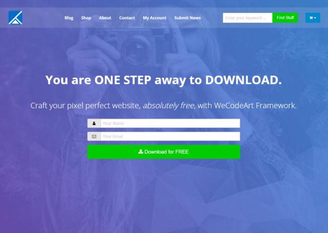 WeCodeArt ScreenShot
