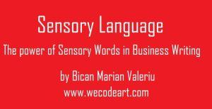 what is sensory description